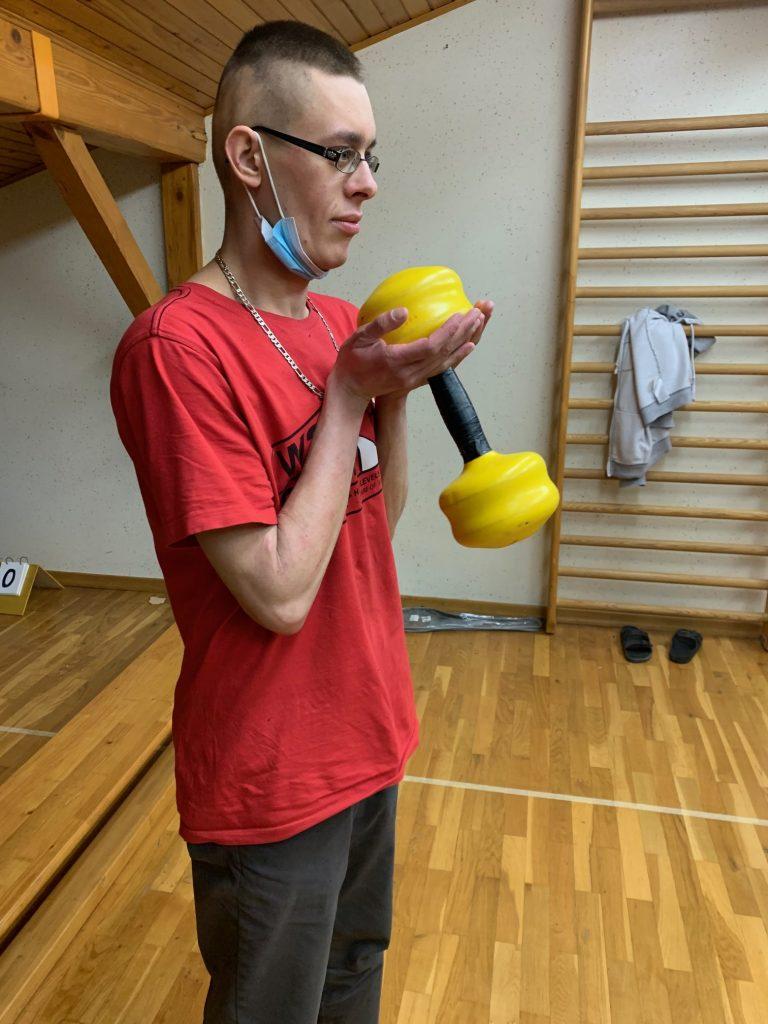 Fitnes v mehurčku