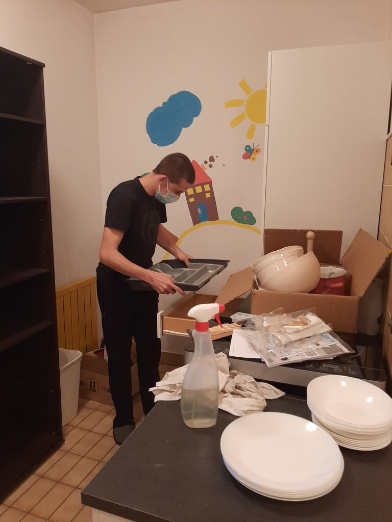 Opremljanje nove kuhinje